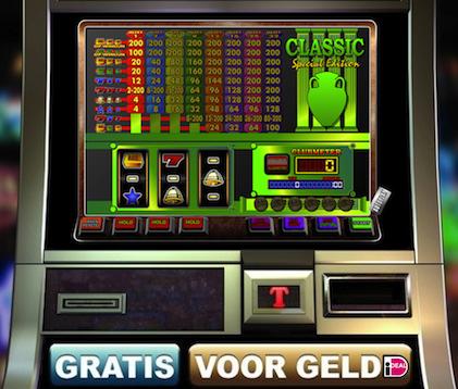 Dit is Classic SE, een klassieke fruitkast van het ClassicJackpot Casino.