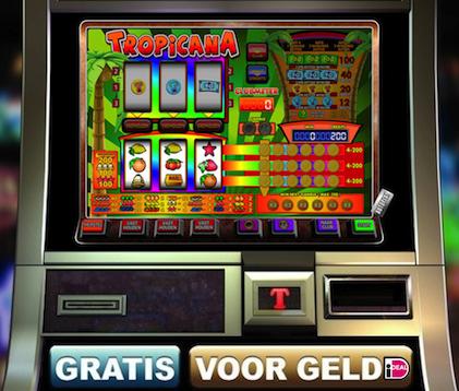 Dit is Tropicana, een klassieke fruitkast van het ClassicJackpot Casino.