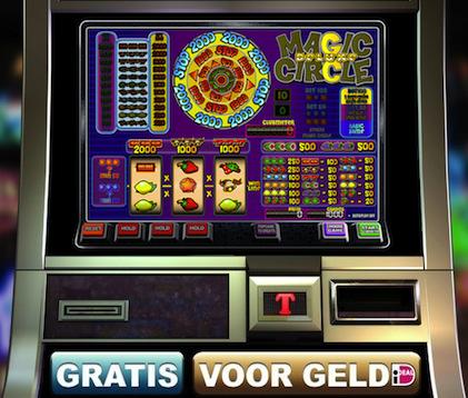 Hier kunt u op onze fruitmachine Magic Circle Deluxe spelen