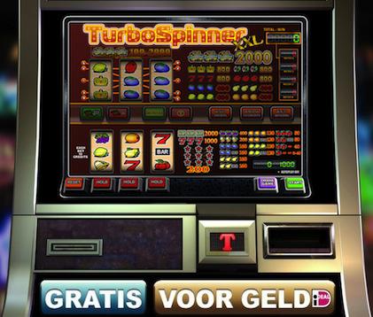 Hier kunt u op onze fruitmachine Turbospinner XXL spelen
